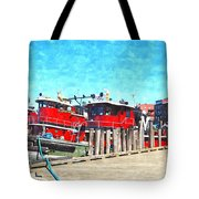 Tugboat Twc Tote Bag