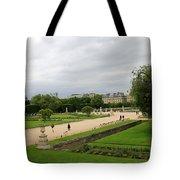 Tuileries Gardens 4 Tote Bag