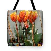 Tulip Arrangement Tote Bag