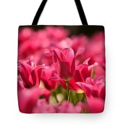 Tulip Bed Tote Bag