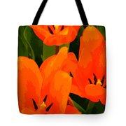 Tulip Trio Tote Bag
