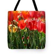 Tulip Uprising Tote Bag