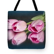 Tulips And Reflections Tote Bag