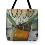 Tulips In Terracotta Tote Bag
