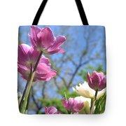 Tulips In The Sun Tote Bag