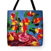 Tulips Vase Tote Bag