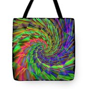 Tumbling Down The Rainbow Highway Tote Bag