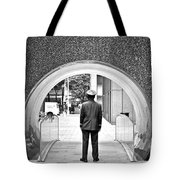 Tunnel Man Tote Bag