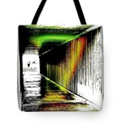 Tunnel Of Colour Tote Bag