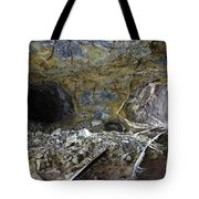 Tunnel With Abandoned Railtracks Tote Bag