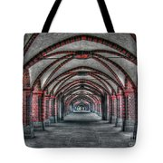 Tunnel With Arches Tote Bag