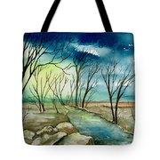 Turbulent Sky Tote Bag