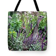Turkey Flowers Tote Bag