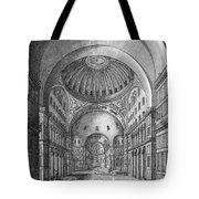 Turkey: Hagia Sophia, 1680 Tote Bag