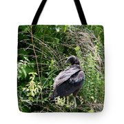 Black Vulture - Buzzard Tote Bag