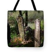 Turkish Cemetery In Rural Mugla Province Tote Bag
