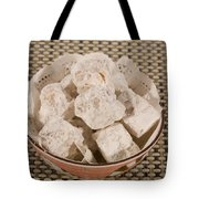Turkish Delight In A Bowl Tote Bag