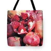 Turkish Pomegrants Tote Bag