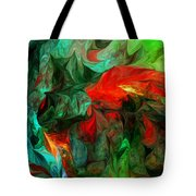 Turmoil  And Frustration Tote Bag