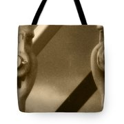Turned On By Turnbuckles Tote Bag