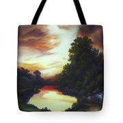 Turner's Sunrise Tote Bag