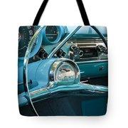 Turquoise Belair Tote Bag