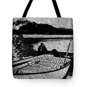 Turr Hunt Sketch Tote Bag