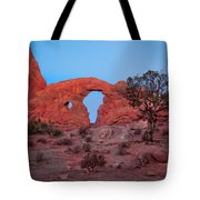 Turret At Sunrise Tote Bag