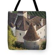 Turrets Schloss Goldrain Tote Bag