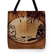 Turtles Love Digital Artwork Tote Bag