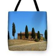Tuscan House  I Cipressini/italy/europe  Tote Bag
