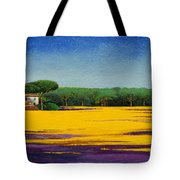 Tuscan Landcape Tote Bag