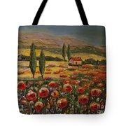 Tuscany And Texas 2 Tote Bag