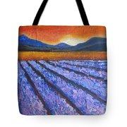 Tuscany Lavender Field Tote Bag
