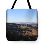 Tuscany Valleys At Sunset Tote Bag