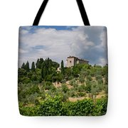 Tuscany Villa In Tuscany Italy Tote Bag by Ulrich Schade