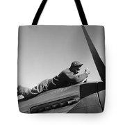 Tuskegee Airman, 1945 Tote Bag