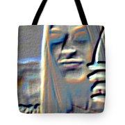 Tv Woman Tote Bag