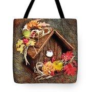 Tweet Little Bird House Tote Bag by Andee Design