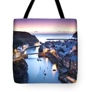 Twilight Glow Staithes Tote Bag
