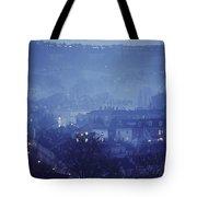 Twilight In Bath, England Tote Bag
