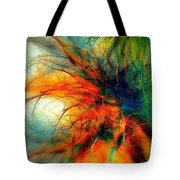 Twilight In The Garden Tote Bag