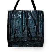 Twilight In The Smouldering Forest Tote Bag