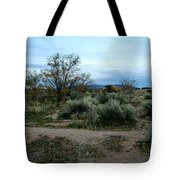 Twilight Near Santa Fe Tote Bag