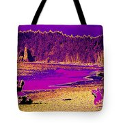 Twilight On La Push Beach Tote Bag