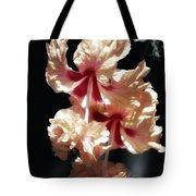 Twin Beauty Hibiscus Tote Bag