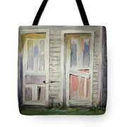 Twin Doors Tote Bag