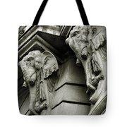 Twin Elephants Tote Bag