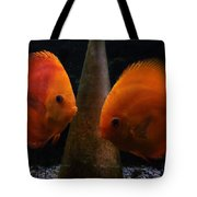 Twin Friends Malboro Fish  Tote Bag