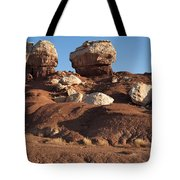 Twin Rocks Capitol Reef Np Tote Bag